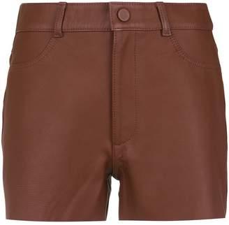 Nk leather shorts