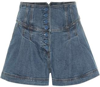 Ulla Johnson Cass denim shorts