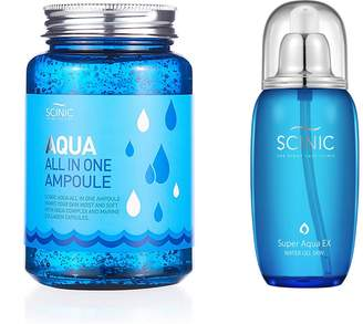 Scinic Aqua 2-Piece All In One Ampoule & Water Gel Toner Set