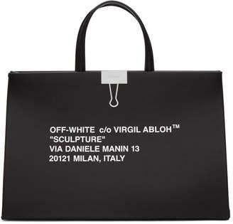Off-White Off White Black Medium Box Bag