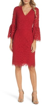 Women's Maggy London Lace Bell Sleeve Dress $158 thestylecure.com