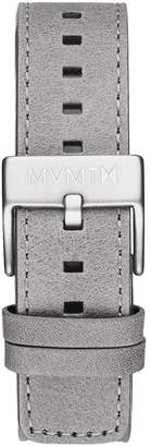 MVMT Mens Chrono 40mm Series20mm Light Grey Leather
