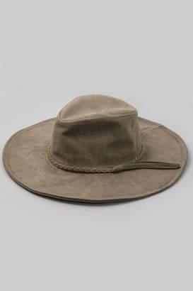 Minx Olive Braided Hat