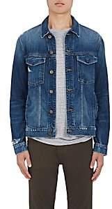 J Brand Men's Gorn Distressed Denim Jacket - Blue