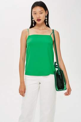 Topshop Tall Square Neck Camisole Top