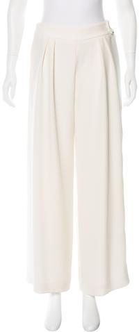 Armani CollezioniArmani Collezioni High-Waisted Wide-Leg Pants w/ Tags