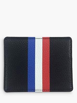 Foxx Smith London Tricolour Stripe Men's Card Holder