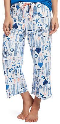 Hue Sailor Jam Cropped Pyjama Pants