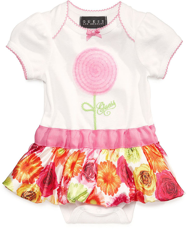 GUESS Girls' Peplum Bodysuit
