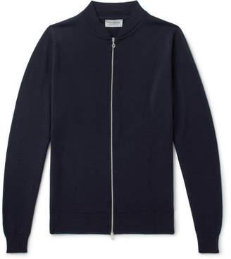 John Smedley Maclean Slim-Fit Wool Bomber Jacket