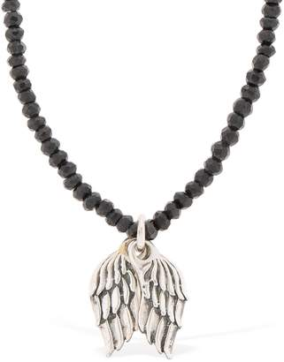 Wings Beaded Necklace