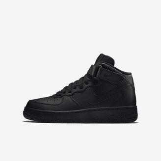 Nike Air Force 1 Mid 06 Big Kids' Shoe (3.5y-7y) $145 thestylecure.com