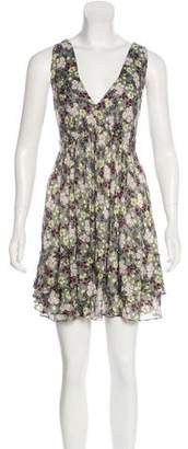 Elizabeth and James Floral Print Mini Dress