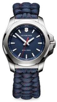 Victorinox I.N.O.X. Paracord Bracelet Analog Watch