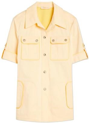 4f2c6af07fc20 Tory Burch Twill Safari Shirt