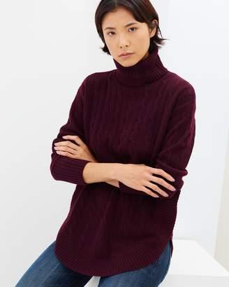 Polo Ralph Lauren Cable Knit Turtleneck Sweater