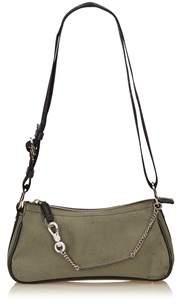 Dior Pre-owned: Canvas Shoulder Bag.