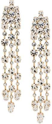 Alberta Ferretti crystal drop earrings