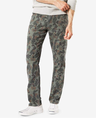 Dockers Men'sSlim Tapered Fit Alpha Khaki Camo Pants