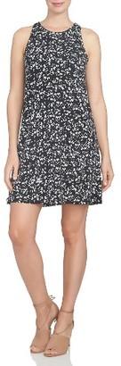 Women's Cece Twist Back Ditsy Floral Dress $99 thestylecure.com