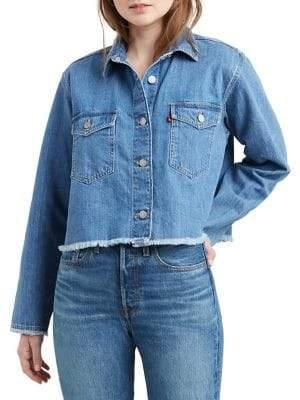Levi's Rania Cropped Denim Jacket