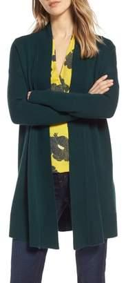 Halogen Open Front Drape Cardigan