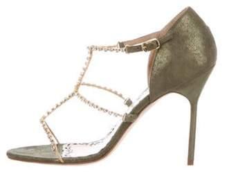 Marchesa Deena Sandals w/ Tags Olive Deena Sandals w/ Tags