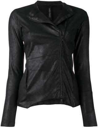 Giorgio Brato fitted leather jacket