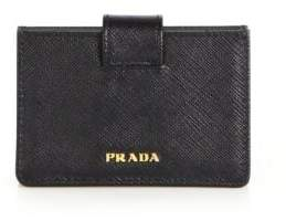 prada Prada Saffiano Leather Accordion Card Case