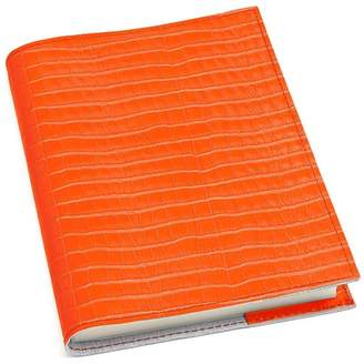 Aspinal of London Croc Refillable Journal