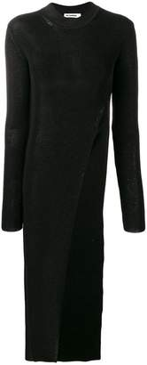 Jil Sander long side slit sweater