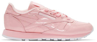 Opening Ceremony Pink Reebok Edition CL Leather Sneakers