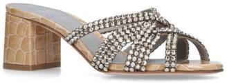 Gina Embellished Dexie Mules 50