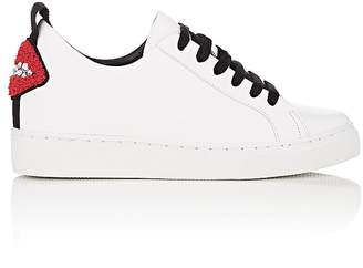 Helena & Kristie Women's Bacio Concealed-Wedge Leather Sneakers