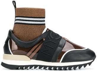Grey Mer ridged sole sock sneakers