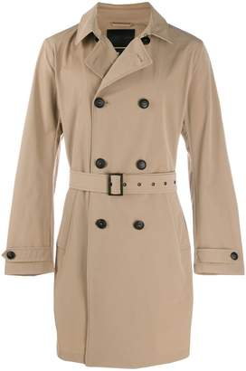 Emporio Armani belted trench coat