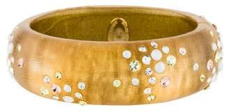 Alexis Bittar Lucite & Crystal Bangle