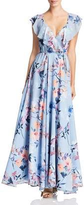 Yumi Kim Full Bloom Wrap Maxi Dress