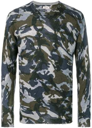 Zadig&Voltaire Kennedy camouflage sweater