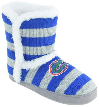 Kohl's Women's Florida Gators Striped Boot Slippers