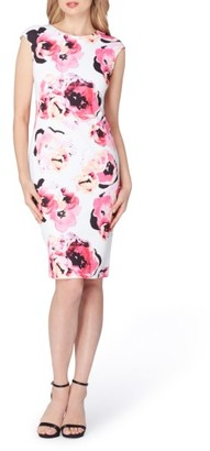 Women's Tahari Floral Sheath Dress $128 thestylecure.com
