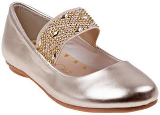 KensieGirl Elastic Strap Ballerina Flat