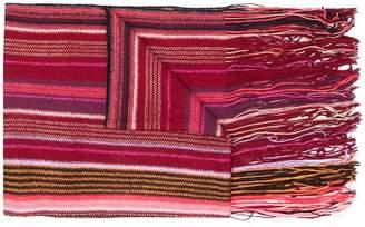 M Missoni long striped scarf