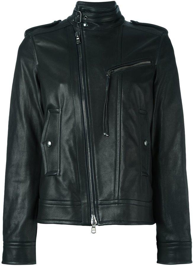 Diesel Black Gold zipped biker jacket
