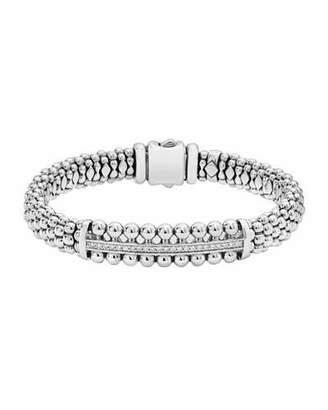 Lagos Caviar Spark Diamond ID Bracelet