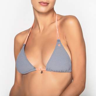 929ec446be Bananamoon banana moon Striped Triangle Bikini Top