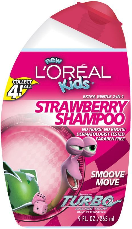 L'Oreal Extra Gentle 2-In-1 Alex Strawberry Shampoo