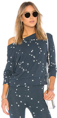 Sundry Stars Off Shoulder Pullover