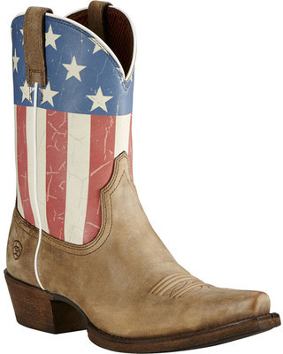 Women's Ariat Old Glory X Toe Cowgirl Boot