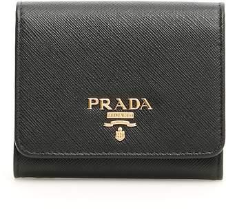 21acd453264f Prada Saffiano Wallet - ShopStyle